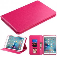 AppleiPad Mini 4th Gen Hot Pink Wallet with Tray