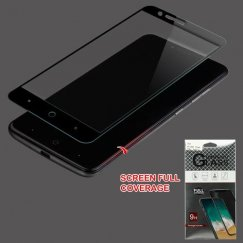 ZTE Blade Z Max / Sequoia Z982 Full Caseage Tempered Glass Screen Protector/Black