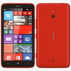 Nokia Lumia 1320 Windows Smartphone for Cricket - Orange