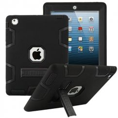 AppleiPad 1st Generation 2010 Black/Black Symbiosis Stand Protector Cover