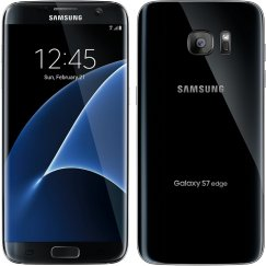 Samsung Galaxy S7 Edge 32GB SM-G935V Android Smartphone - Page Plus - Black Onyx Smartphone in Black