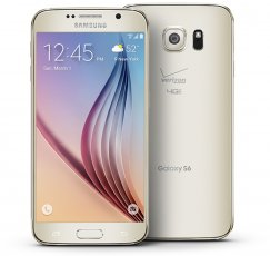 Samsung Galaxy S6 32GB SM-G920V Android Smartphone for Page Plus - Gold Platinum Smartphone in Gold