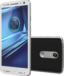 Motorola Droid Turbo 2 32GB Android Smartphone for Verizon Wireless - White with Black Back Cover