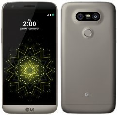 LG G5 H820 32GB Android Smartphone - Ting - Titan Gray