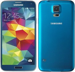 Samsung Galaxy S5 16GB SM-G900V Android Smartphone - Page Plus - Blue