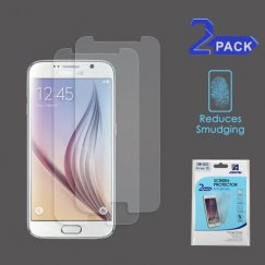 Samsung Galaxy S6 Anti-grease LCD Screen Protector - Clear - 2-pack