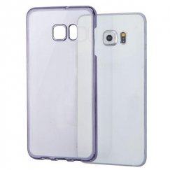Samsung Galaxy S6 Edge Plus T-Clear Back Case With Black-Plating Frame