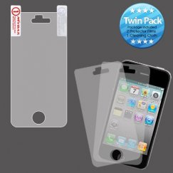 Apple iPhone 4 Screen Protector Twin Pack
