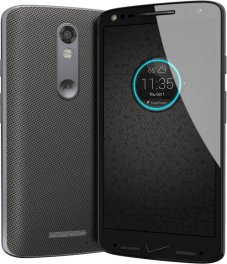 Motorola Droid Turbo 2 32GB XT1585 Android Smartphone - Page Plus - Gray Ballistic Nylon Smartphone in Gray