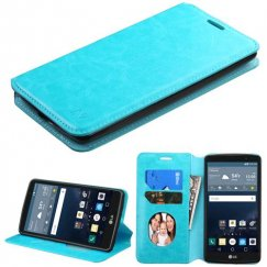 LG G Stylo Blue Wallet with Tray