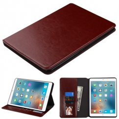 AppleiPad iPad Pro 9.7 2016 Brown Wallet with Tray