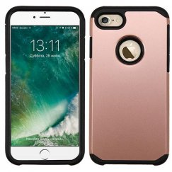 Apple iPhone 8 Rose Gold/Black Astronoot Case