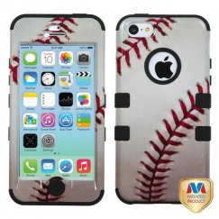 Apple iPhone 5c Baseball-Sports Collection/Black Hybrid Case