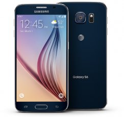 Samsung Galaxy S6 32GB SM-G920A Android Smartphone - Straight Talk Wireless - Sapphire Black