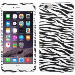 Apple iPhone 6 Plus Zebra Skin Case