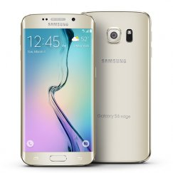 Samsung Galaxy S6 Edge SM-G925A 32GB Android Smartphone - Straight Talk Wireless - Platinum Gold