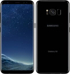Samsung Galaxy S8 SM-G950U 64GB Android Smartphone - Page Plus Wireless - Black