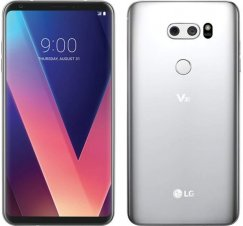 LG V30 VS996 64GB 4G LTE Android Smart Phone - Unlocked - Cloud Silver