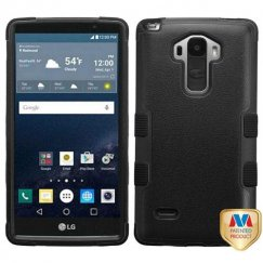LG G Stylo Natural Black/Black Hybrid Case