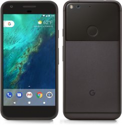 Google Pixel XL 32GB Android Smartphone - Ting - Black