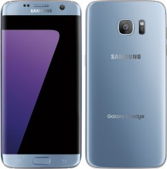 Samsung Galaxy S7 Edge SM-G935A Android Smartphone - Cricket Wireless - Coral Blue