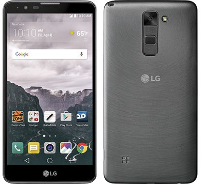 LG G Stylo 2 LS775 Android Smartphone for Boost Mobile - Gray