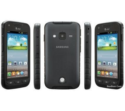 Samsung Galaxy Rugby Pro 8gb Sgh I547 Rugged Android Smartphone Unlocked Gsm Black On Previous Next