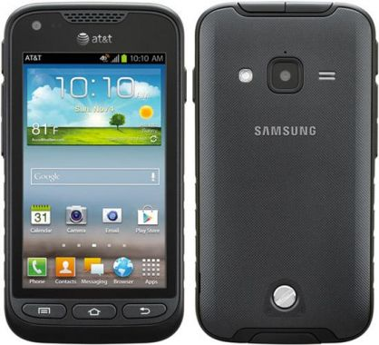 Samsung Galaxy Rugby Pro 8gb Sgh I547 Rugged Android Smartphone Unlocked Gsm Black