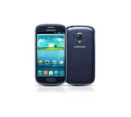 samsung galaxy s3 mini blue 4g lte android smart phone att fair condition used cell phones. Black Bedroom Furniture Sets. Home Design Ideas