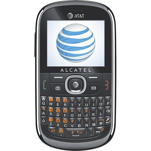 alcatel 871a for att wireless in grey excellent condition used cell phones cheap at t. Black Bedroom Furniture Sets. Home Design Ideas