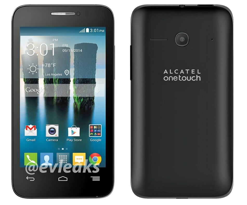 Alcatel Onetouch Evolve 3g Android Smart Phone T Mobile
