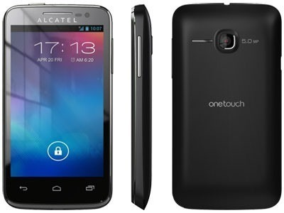 Alcatel OneTouch Evolve 5020T Android Smartphone - Cricket Wireless - Black