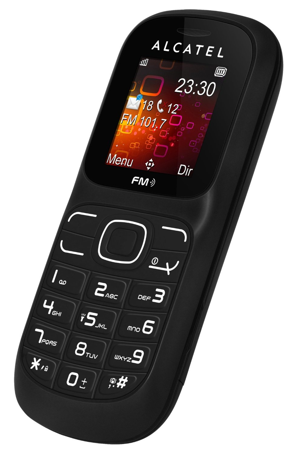 Alcatel One Touch 232a Basic Color Bar Style Phone