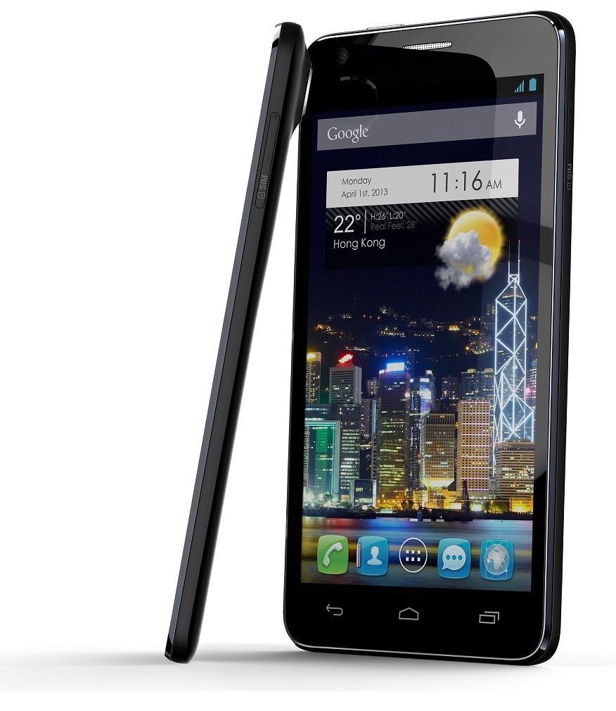 alcatel one touch evolve 3g android smart phone unlocked. Black Bedroom Furniture Sets. Home Design Ideas