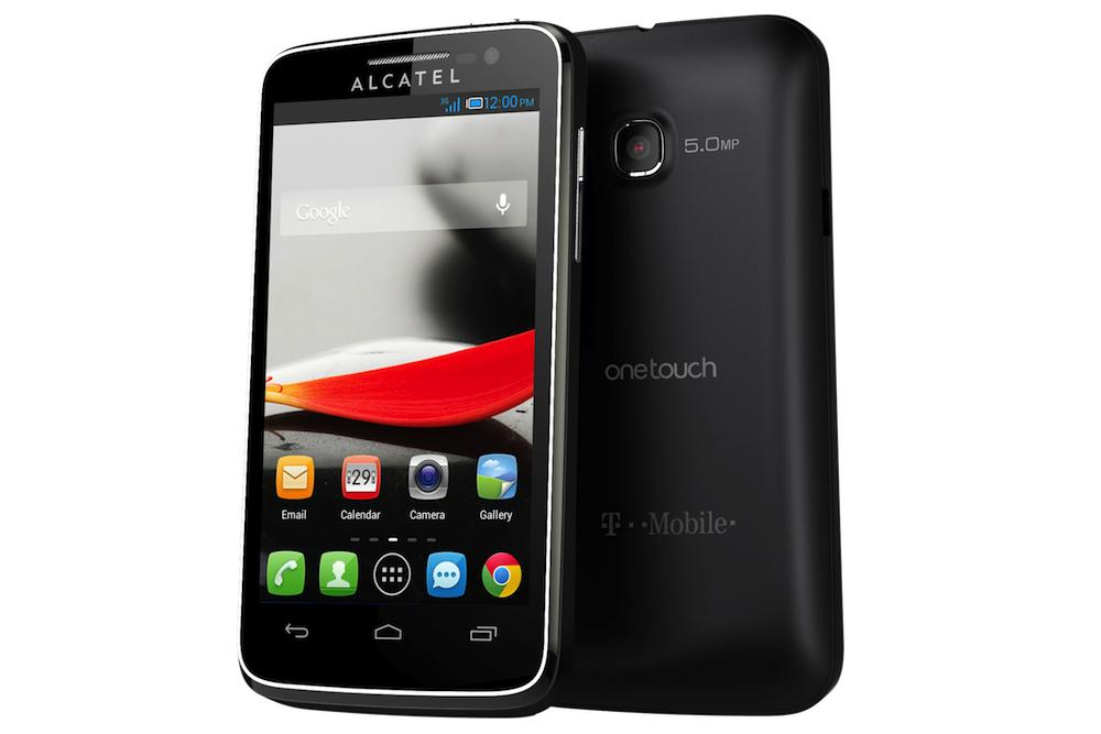 alcatel one touch evolve 3g android smart phone t mobile. Black Bedroom Furniture Sets. Home Design Ideas