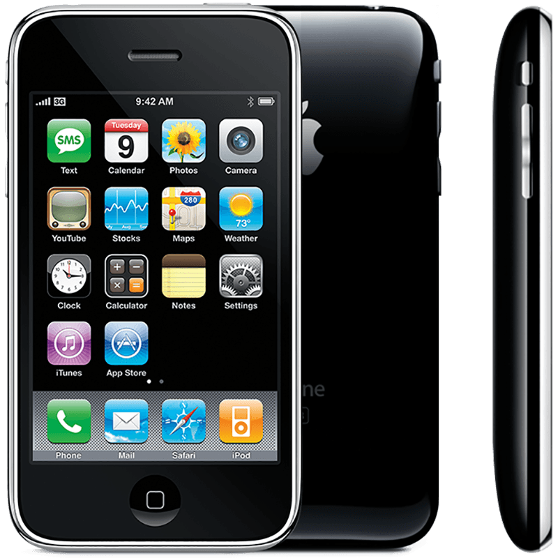Apple iPhone 3G Bluetooth WiFi 3G Music 8GB Black Phone Unlocked