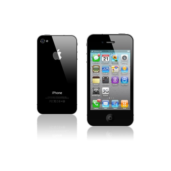 apple iphone 4s 16gb black ios 4g lte smartphone for t. Black Bedroom Furniture Sets. Home Design Ideas