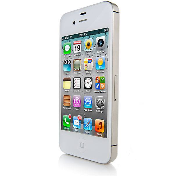 apple iphone 4s 16gb bluetooth gps white phone sprint. Black Bedroom Furniture Sets. Home Design Ideas