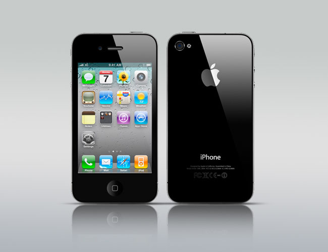 Apple iPhone 4 16GB Smartphone - Unlocked GSM - Black - Good Condition : Used Cell Phones, Cheap