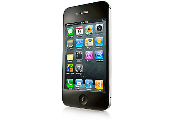 ... Verizon - Apple iPhone 4 8GB Bluetooth WiFi GPS PDA Phone Verizon