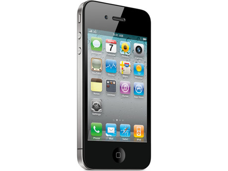 Apple iPhone 4 8GB Bluetooth WiFi GPS PDA Phone Virgin Mobile