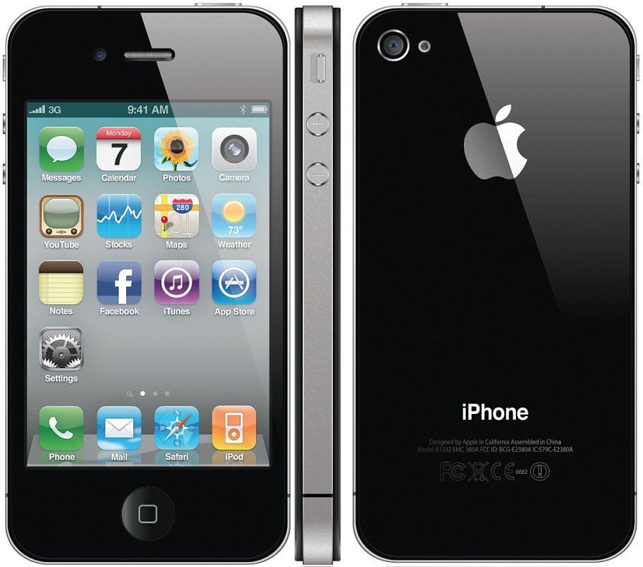 Apple Iphone 4 8gb Smartphone T Mobile Black