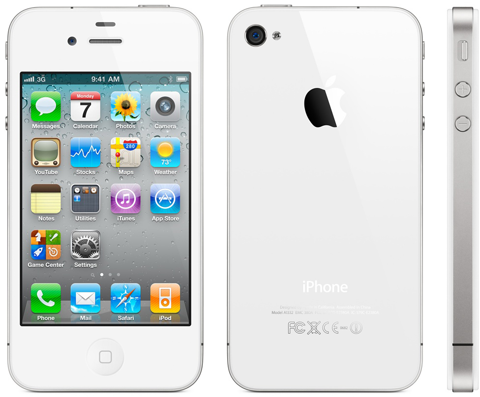 Apple iPhone 4 8GB Smartphone - MetroPCS - White - Good Condition ... d35400b1d1
