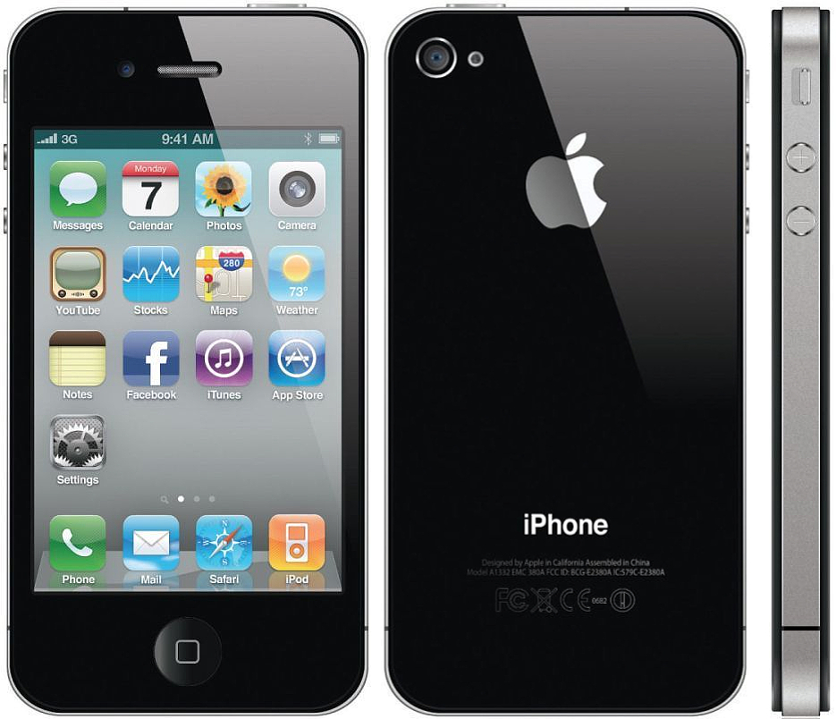 apple iphone 4 8gb smartphone for verizon   black   fair