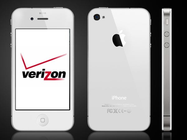 used verizon iphone apple iphone 4 8gb smartphone for verizon white 13213