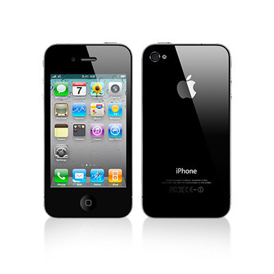 Apple iPhone 4s 16GB Smartphone - Unlocked GSM - Black - Excellent Condition : Used Cell Phones ...