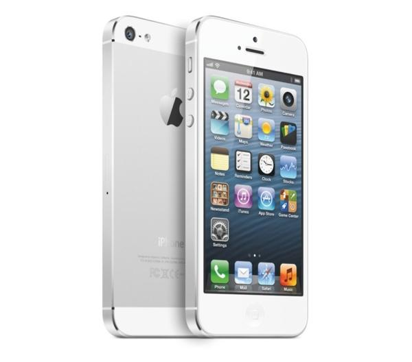 Apple iPhone 5 64GB 4G LTE Phone in White for ATT Wireless
