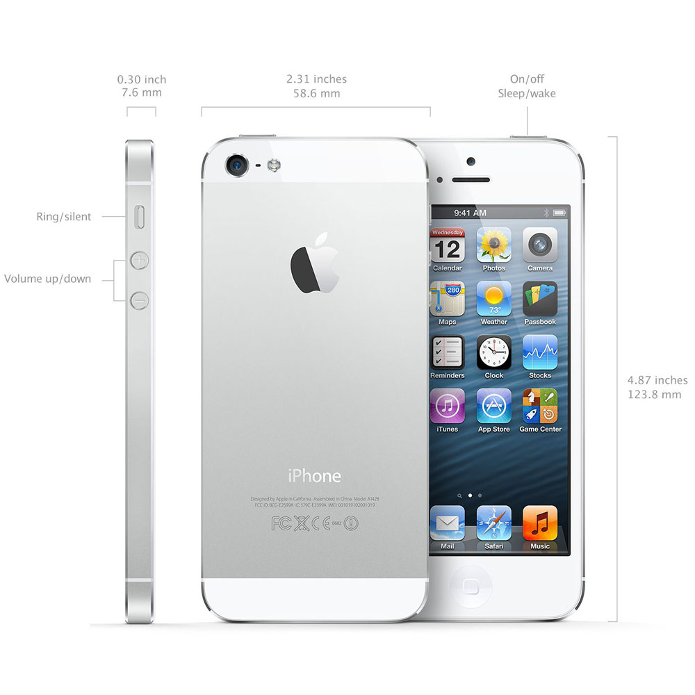 cheap used iphone 5 apple iphone 5 64gb smartphone unlocked gsm white 4444