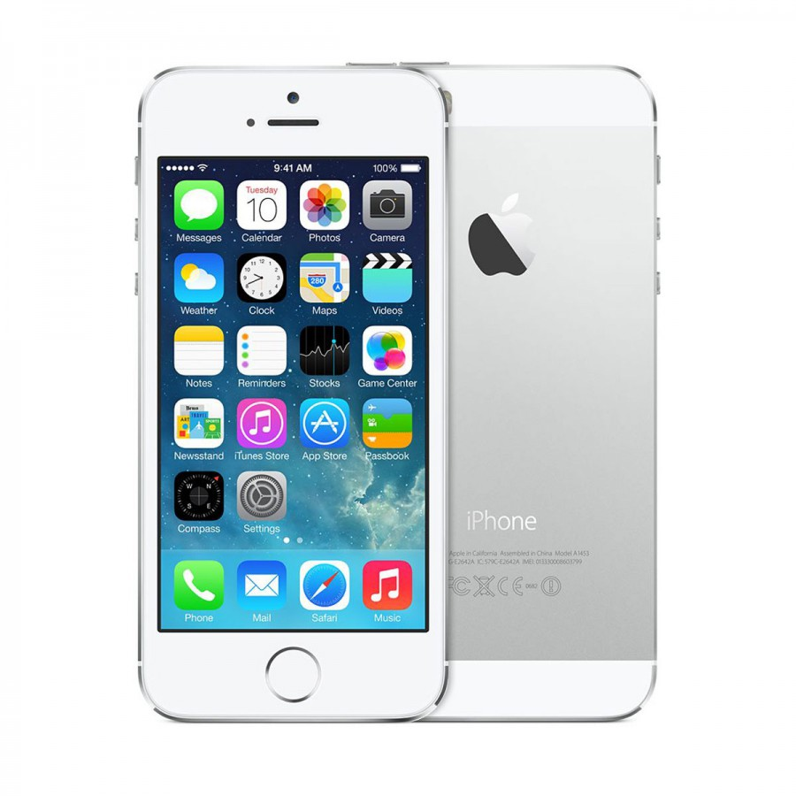 t mobile apple iphone 5s 16gb 4g lte smartphone in silver for bluepad. Black Bedroom Furniture Sets. Home Design Ideas