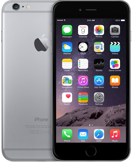 Apple Iphone 6 16gb For Cricket Wireless Smartphone In Space